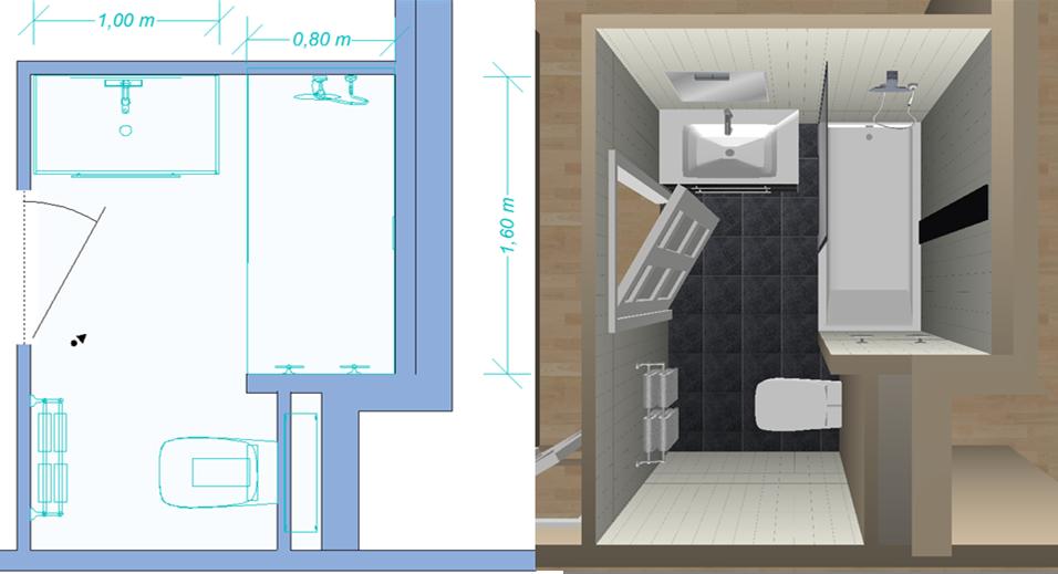 Moreux sarl sp cialiste en salles de bains au sud de for Plan sdb 3d